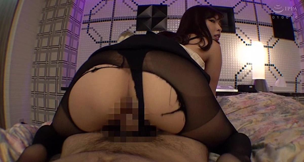 【宮川ありさ】変態なM女に堕ちたスレンダーな美人受付嬢と主観セックス