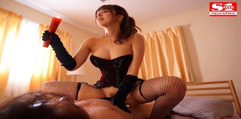 【三上悠亜】美女過ぎるドSな彼女の姉に調教されM男にされた僕